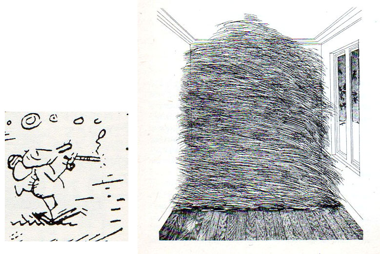 Ignatz Mouse (George Herriman), A room full of straw (David Hockney)