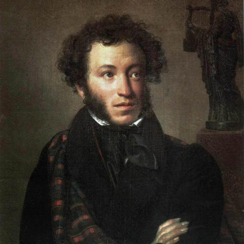 Pushkin by Kiprensky